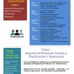 Invitación: Taller I – Seguro de Personas , Planificación y Asistencias