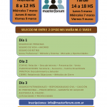 Capacitación profesional en Masterforum – Vacantes disponibles