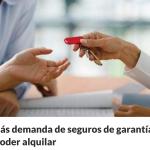 Por problemas para alquilar, sube la demanda de seguros de garantías