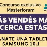 Concurso Masterforum – Ganate una Tablet !!!!